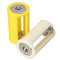 Параллельный случай коробка держатель адаптер размер батареи 1.5V конвертер 3 AA 1 d