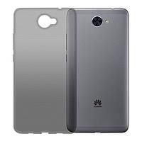 Чехол GlobalCase (TPU) Extra Slim для Huawei Y7 (Dark) (1283126477379)