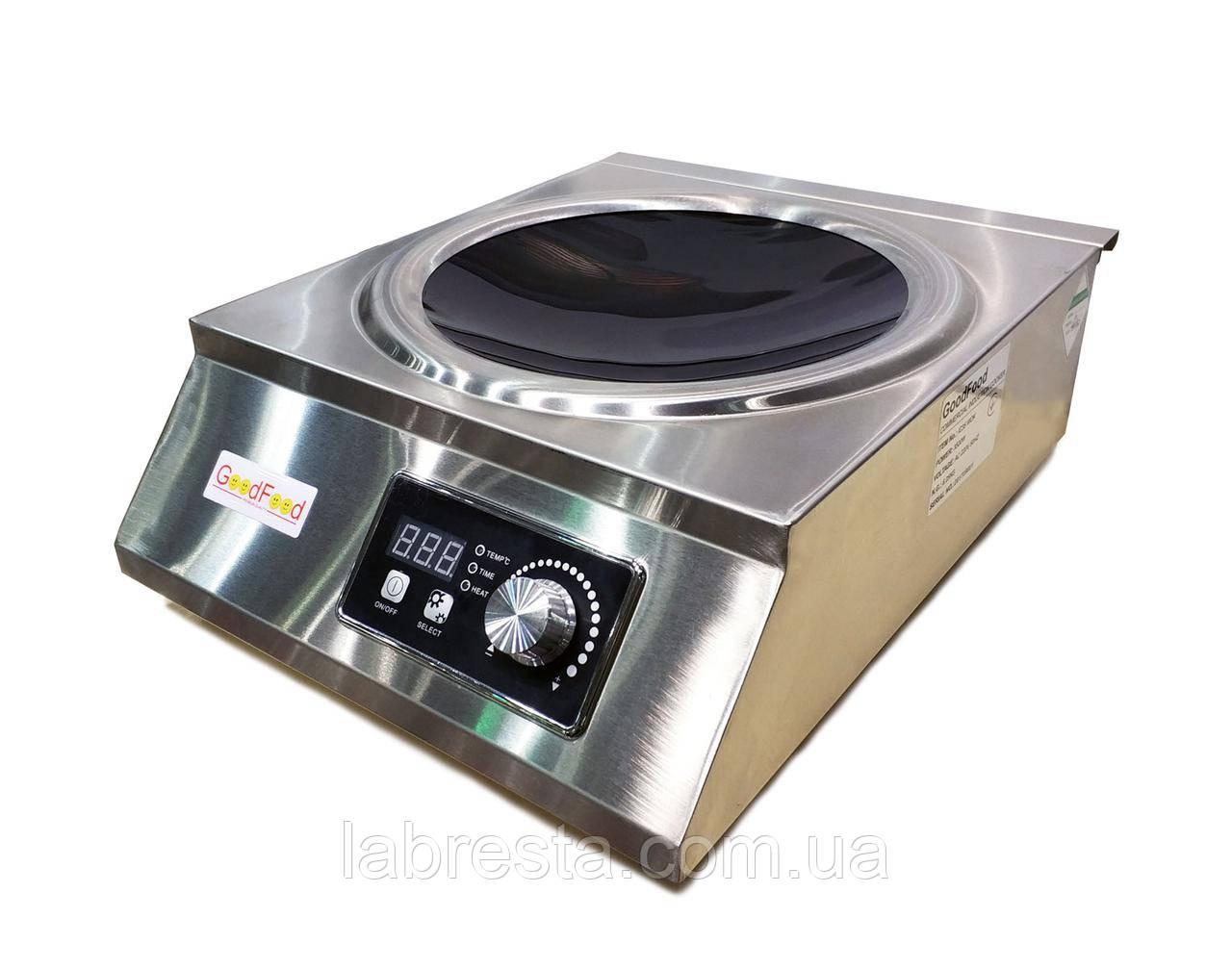 Плита индукционная со сковородой GoodFood IC35 WOK