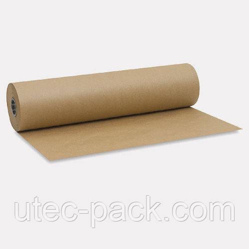 Крафт папір ЮТЭК в рулоні 80 г/м2, 50 м. п коричнева КБР-50