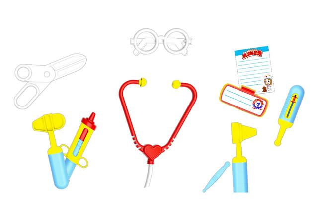 игрушка детская доктор
