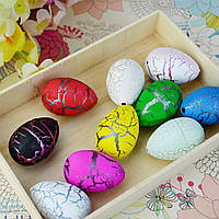 1шт большой смешно магия растут инкубационные яйца динозавров Рождественские ребенка игрушка подарки