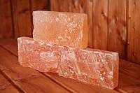 Гималайская розовая соль SZ1R 20x10x5 см, (кирпич, рваный камень)