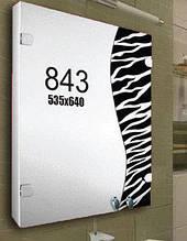 """Шафка дзеркальна у ванну (навісний шафка) м""""843"""""""