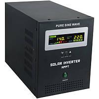 Гибридный инвертор AXEN.IS-2000 +стабилизатор 2000ВА (1400Вт), 24В + MPPT контроллер 40А, 24В