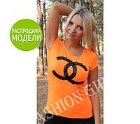 """Футболка """"Бренд Chanel"""" - распродажа модели"""