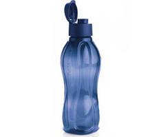 Бутылка 1 л Tupperware синяя с клапаном