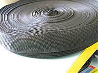 Лента сумочная 50 мм (50 метров, черная)