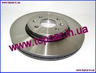 Тормозной диск передний Renault Megane II 03-ABE Польша C3R011ABE