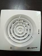 Вентилятор осевой Вентс 100 Квайт, вентилятор тихий, вентилятор бытовой.