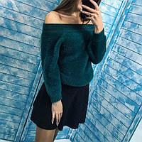 Женский красивый пушистый свитер-травка (4 цвета), фото 1