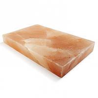 Гималайская розовая соль 20x10x2,5 см, плитка