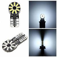 2 штук T10 ширина декодирования света W5W 3014 18SMD габаритный фонарь для мотоцикла автомобиля белый