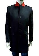 Пальто мужское зимнее №612 з - 13875 син/чер., фото 1