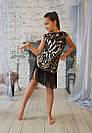 Платье леопардовое для тренировок и выступлений , фото 2