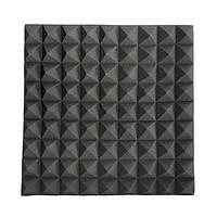 45 × 45 × 5 см черный треугольник изоляции уменьшить шум губки пены хлопка