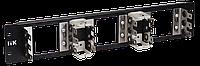 ITK 3U рама для 15 плинтов типа Krone, LSA-PLUS, черная