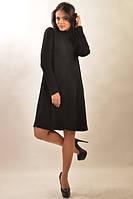 Тёплое платье Аква Зима черный