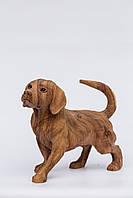 Статуэтка деревянная Собака