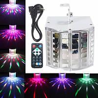 18w LED RGB звук Активизированный dmx512 этап Строб эффект освещения DJ диско-бар вечеринка