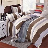 3 или 4шт полоса хлопок смесь краски печать комплектов постельного белья близнец полный размер королева