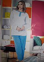 Женская пижама большого размера на байке