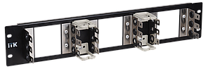 ITK 4U рама для 18 плинтов типа Krone, LSA-PLUS, черная