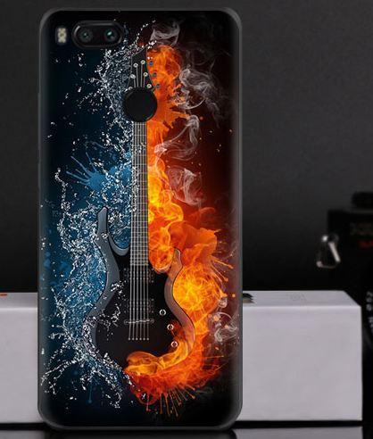 Силиконовый чехол на Xiaomi Mi A1 / Mi 5x с картинкой магическая гитара