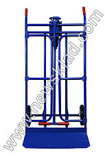 Металевий візок-трансформер, складський візок, кравчучка, фото 3