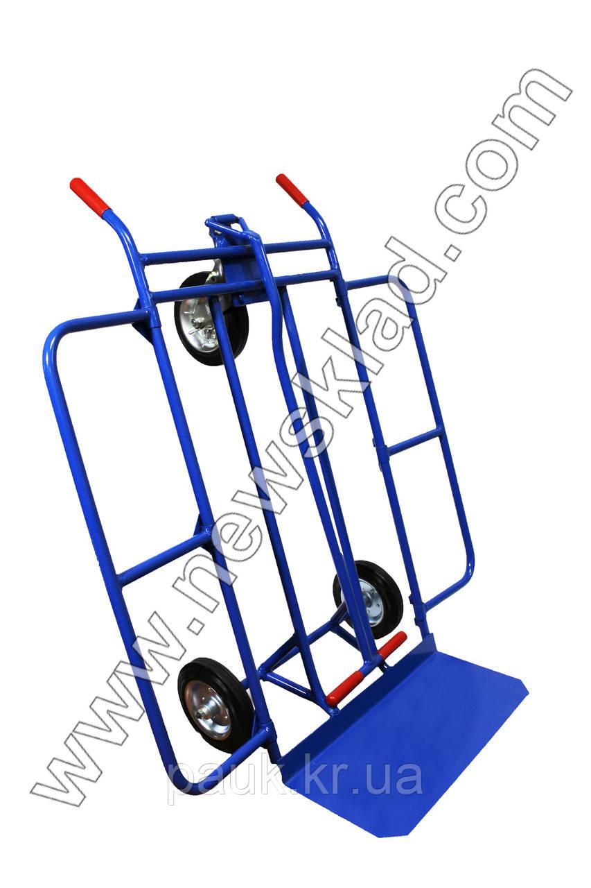 Металевий візок-трансформер, складський візок, кравчучка