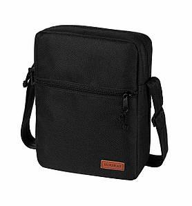 Сумка-мессенджер через плечо Surikat Tablet черная (28*22*6 см)