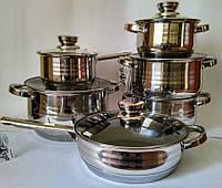 Набор посуды Bohmann BH-1231 MRB 12 предметов
