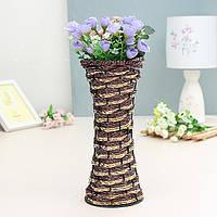 28см лоза rotin ротанг ваза zakkz цветок бутылки украшения цветочной композиции домашнего декора