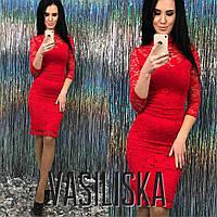 Кружевное нарядное платье ан-11736-1