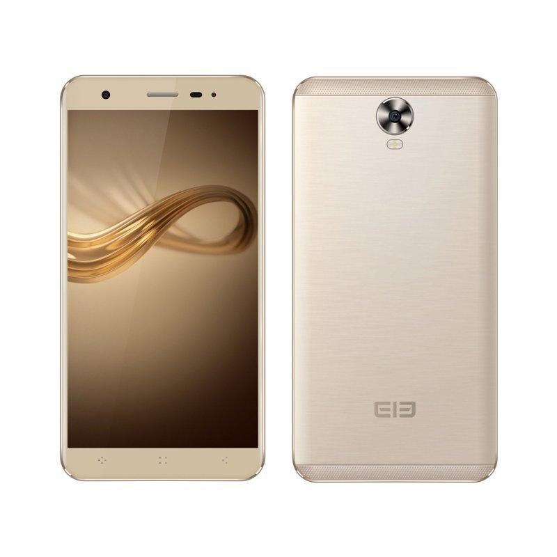 "Смартфон Elephone A1 Gold, 2sim, 5/2Мп, 4 ядра, экран 5"" IPS, 2000mAh, 1/8Gb, GPS, 3G, Android 6.0"