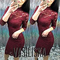 Кружевное нарядное платье ан-11736-2