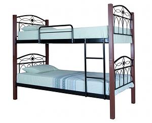 Кровать кованная двухъярусная Элизабет