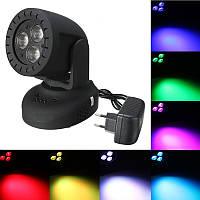 Black Shell LED Многоцветный голосовой активированный эффект сцены Осветительный клуб Дискотека Party Лампа