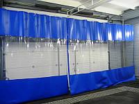 Мягкие окна и шторы из пвх для складов, ангаров. Тентовые стены