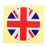 Винил 5x5cm национальный флаг Великобритании соединенное королевство британский значок автомобиля стикер графика переводная картинка этик