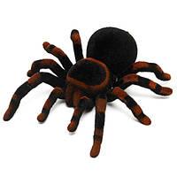 Дистанционное Управление 11 '' 4CH Реалистичная RC Spider Тарантул Страшная игрушка Подарочная праздничная подарочная модель