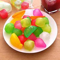 6шт многоразовые пластиковые кубики льда многоцветной прохладный холодные напитки гриль-бар барбекю используется