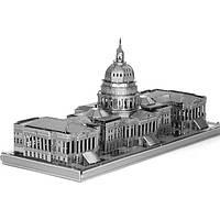 Айпина diy 3d головоломка из нержавеющей стали модель комплекта США Конгресс серебряный цвет