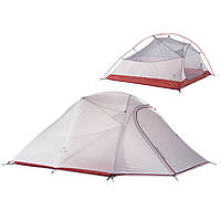 Naturehike 3 Лица Палатка Зонт двойной слой водонепроницаемый анти-УФ ВС Укрытие Отдых Туризм Путешествия