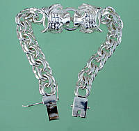 Срібний браслет без вставок