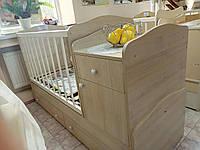Кровать-трансформер Бони Малыш 3 в 1 (ТМ-05) Клен танзау
