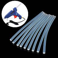10шт 7мм х 200мм EVA прозрачный термоплавкий клей палочки Клеевые палочки для клеящего пистолета