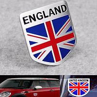 Алюминий англия флаг Великобритании щит эмблема значок стикер автомобиля этикету декора универсальный грузовик авто