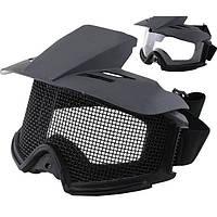 Tactical мотоцикл очки CS сетки ПК объектива пуленепробиваемые очки защиты wosport