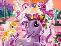 Картинка вафельная А4  Пони